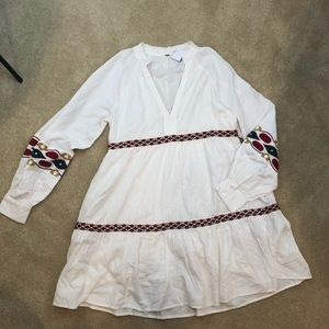 Free People Boho Mini Dress Medium NEW